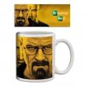 Mug Breaking bad fond jaune