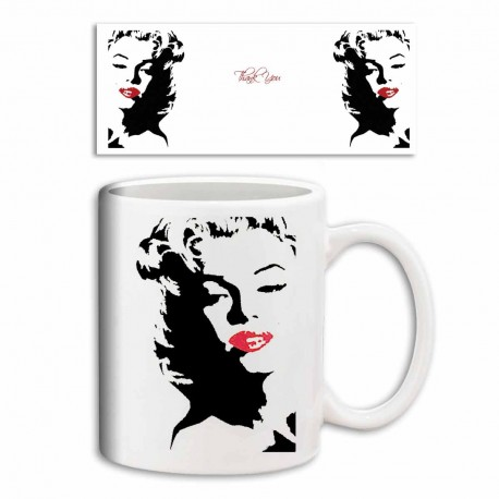 "Mug marylin ""Thank You"""