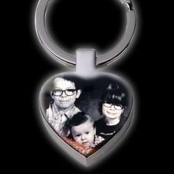 Porte clés coeur