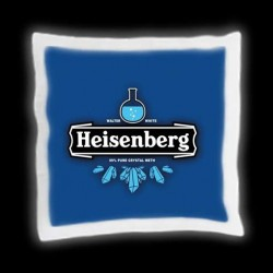 "Coussin ""Breaking Bad"" Heïsenberg"