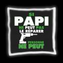 """Coussin """"Papi Bricoleur"""""""