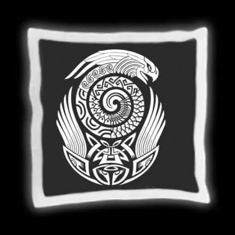 "Coussin ""motif Maorie"""