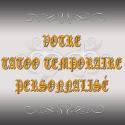 Tatoo temporaire à personnaliser