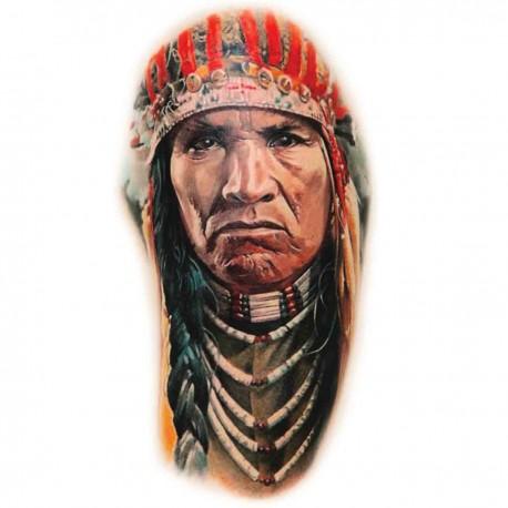 Tatoo temporaire bracelet indien aigle