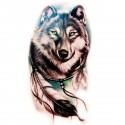 Tatoo temporaire Attrape-rêve Loup