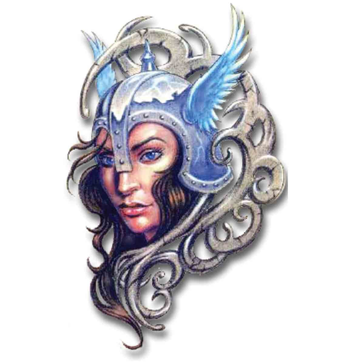 Tatoo Temporaire Guerriere Viking
