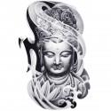 Tatoo temporaire Buddha volutes