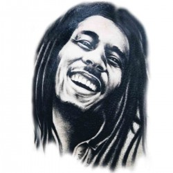 "Tatoo temporaire Bob Marley ""Enjoy"""