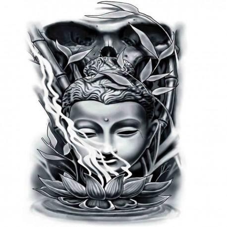 "Tatoo temporaire Buddha ""Fleur de Lotus"""