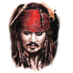 Tatoo temporaire Jack Sparrow