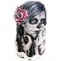 Tatoo Temporaire Femme fatale à la rose