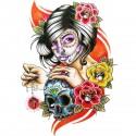 Tatoo Temporaire Santa-Muerte style BD
