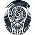 Tatoo temporaire perroquet Maorie