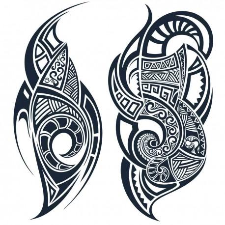 Tatoo temporaire apparat Maorie