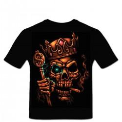 Tshirt personnalisé roi Liche