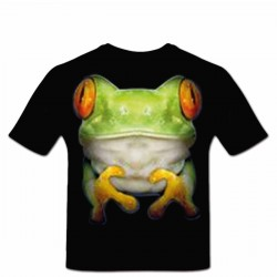 Tee shirt personnalisé Frog