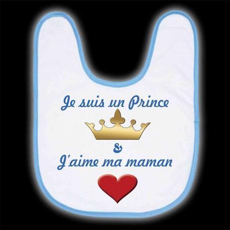 """Bavoir """"Je suis un Prince"""""""