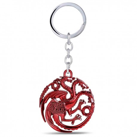 "Porte-clés ""Game of Thrones"" Maison Targaryen"