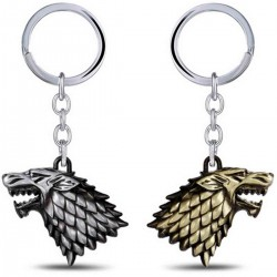 "Porte-clés ""Game of Thrones"" Maison Stark"""