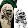 """Tattoo temporaire """"Skull Pistolero"""""""