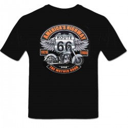 Tee shirt personnalisé America's Highway