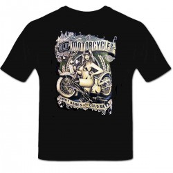 Tee shirt personnalisé Old Motorcycle