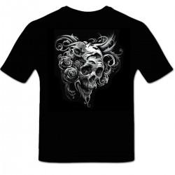 Tee shirt personnalisé Skull Concept