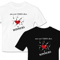 Tshirt Tous des Winners