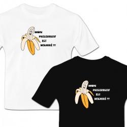 T-shirt banane préservatif