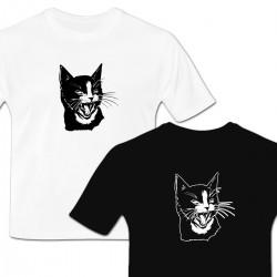 Tshirt Tête de chat