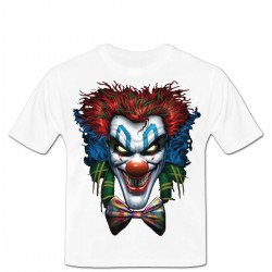Tshirt psycho clown