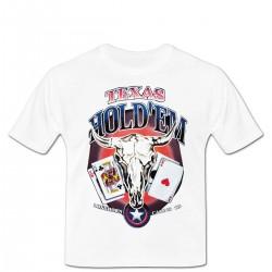 Tshirt Texs Hold'em