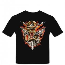 Tshirt Serpent des Lames