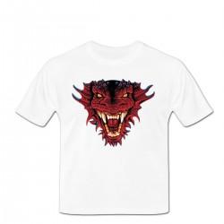 Tshirt red Dragon's Head