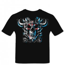 Tshirt warrior skull