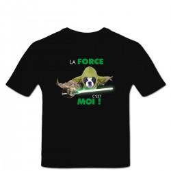 Tshirt Je Suis la FORCE