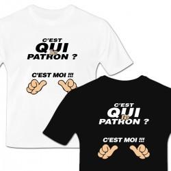 Tshirt C'est QUI le Patron ?