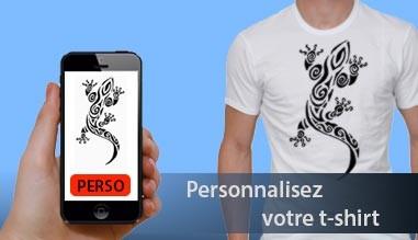 Création de T-shirt personnalisés